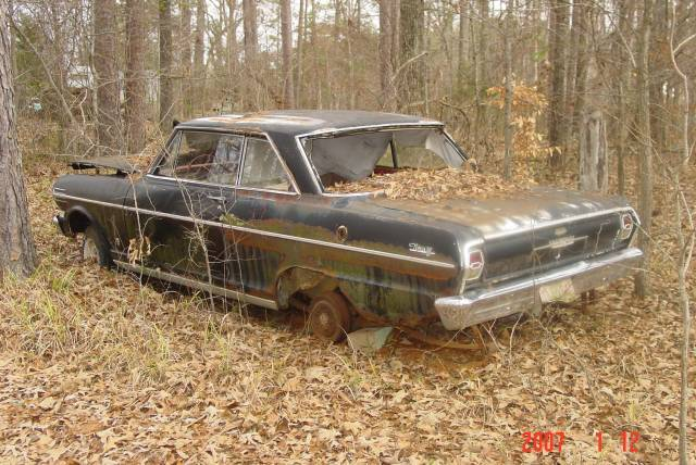 Trucks For Sale In Maine >> Abandoned Chevy Nova Photo Picture