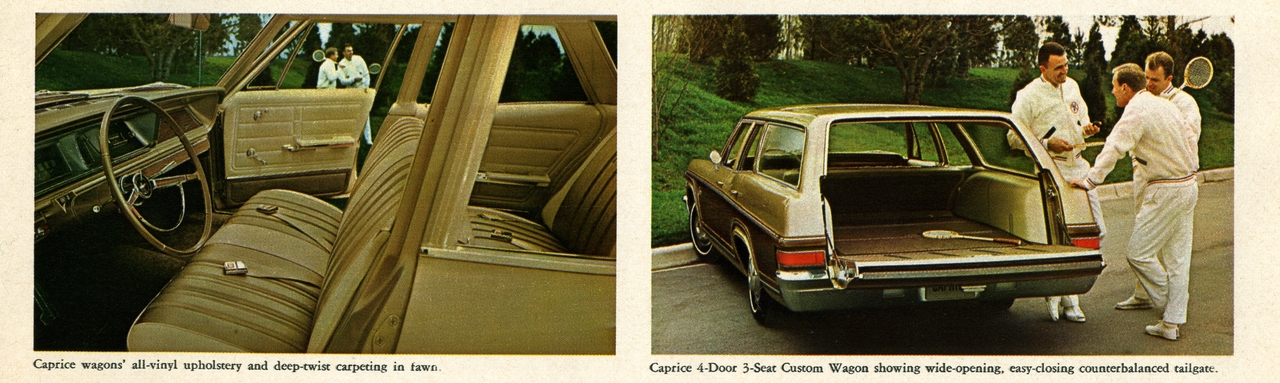 1966 chevrolet caprice station wagon and interior photo picture. Black Bedroom Furniture Sets. Home Design Ideas