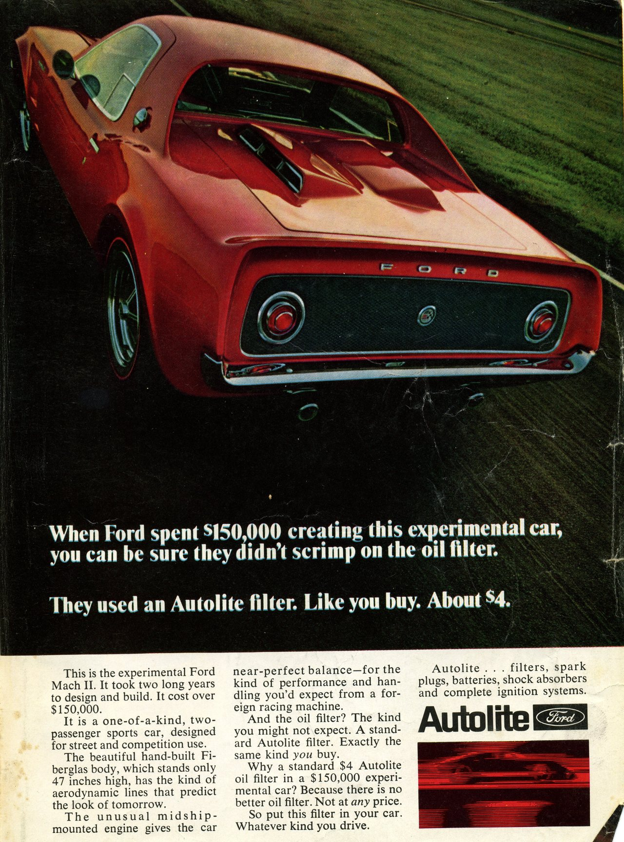 Experimental Ford Mach II Photo Picture