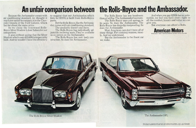1968 american motors advertisement photo picture for American classic motors for sale
