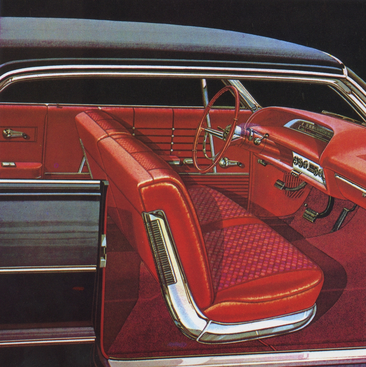 1964 chevrolet impala ss interior photo picture. Black Bedroom Furniture Sets. Home Design Ideas