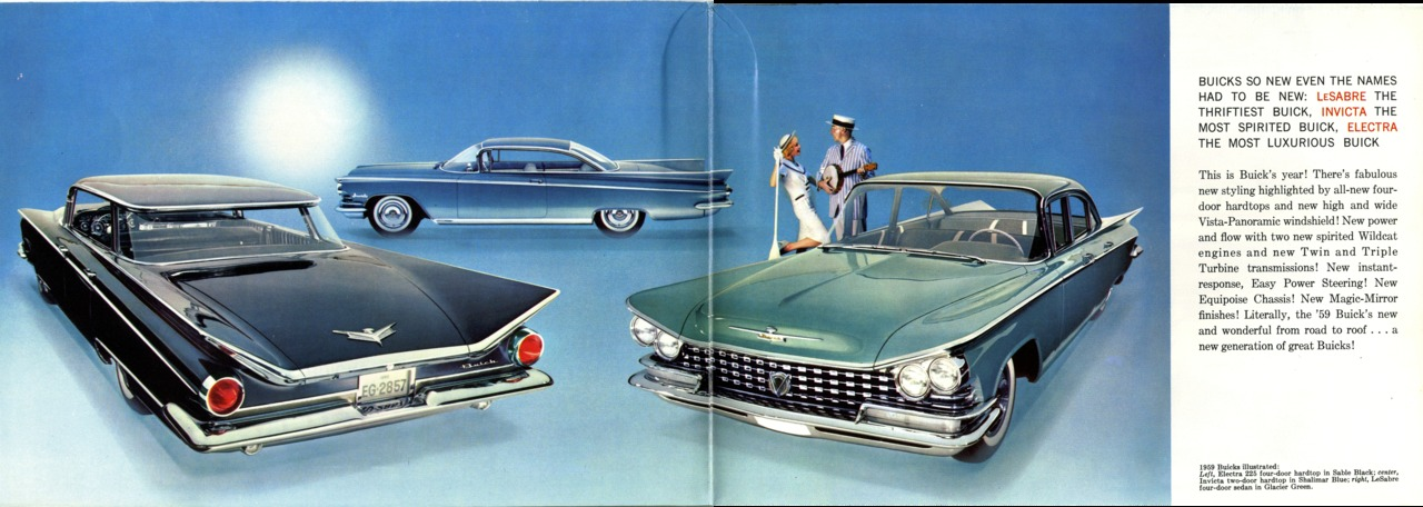 1959 Buick Brochure Photo Picture