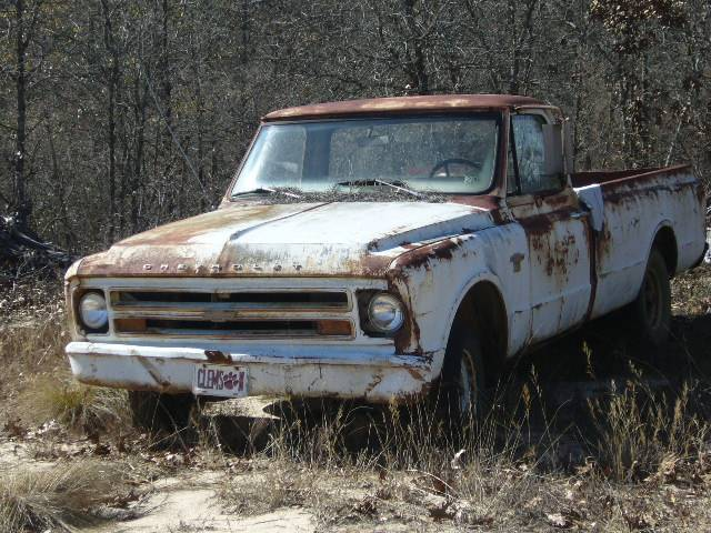 rusty 1967 chevy pickup photo picture. Black Bedroom Furniture Sets. Home Design Ideas