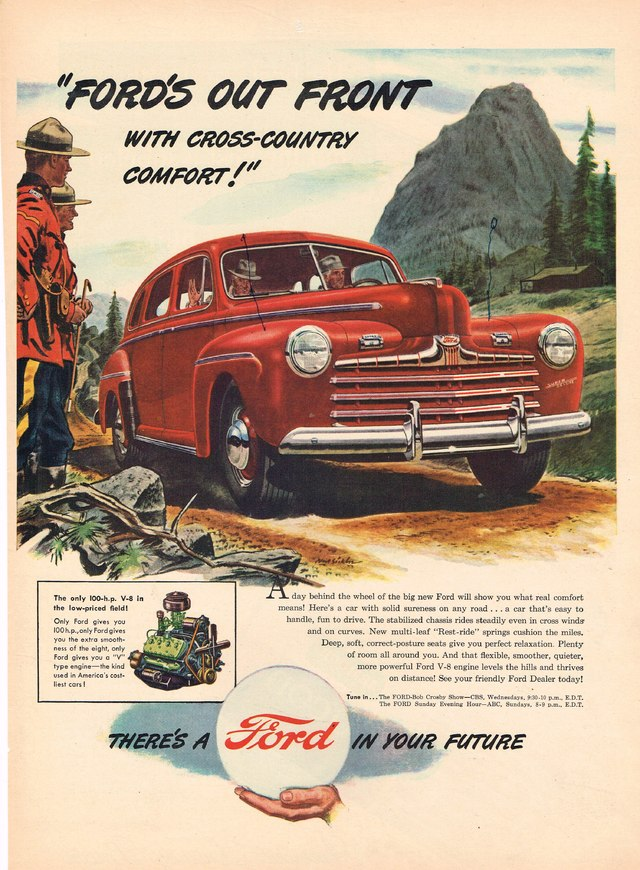 Ford\'s Out Front with Cross-Country Comfort Photo Picture