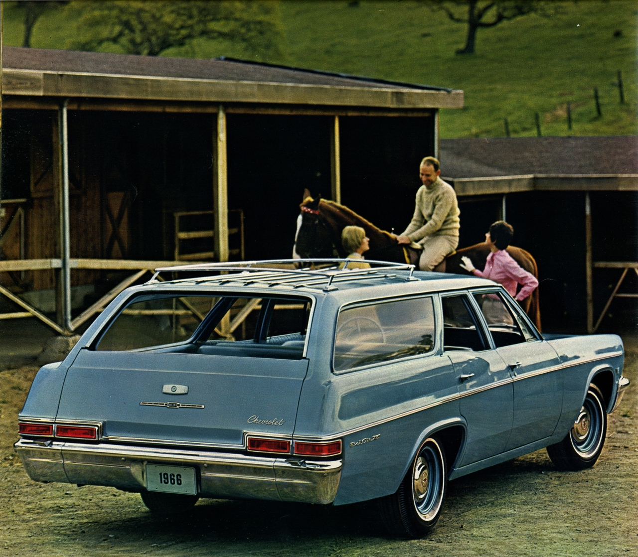 Chevrolet Belair Station Wagon The 1966 Bel Air Photo Picture