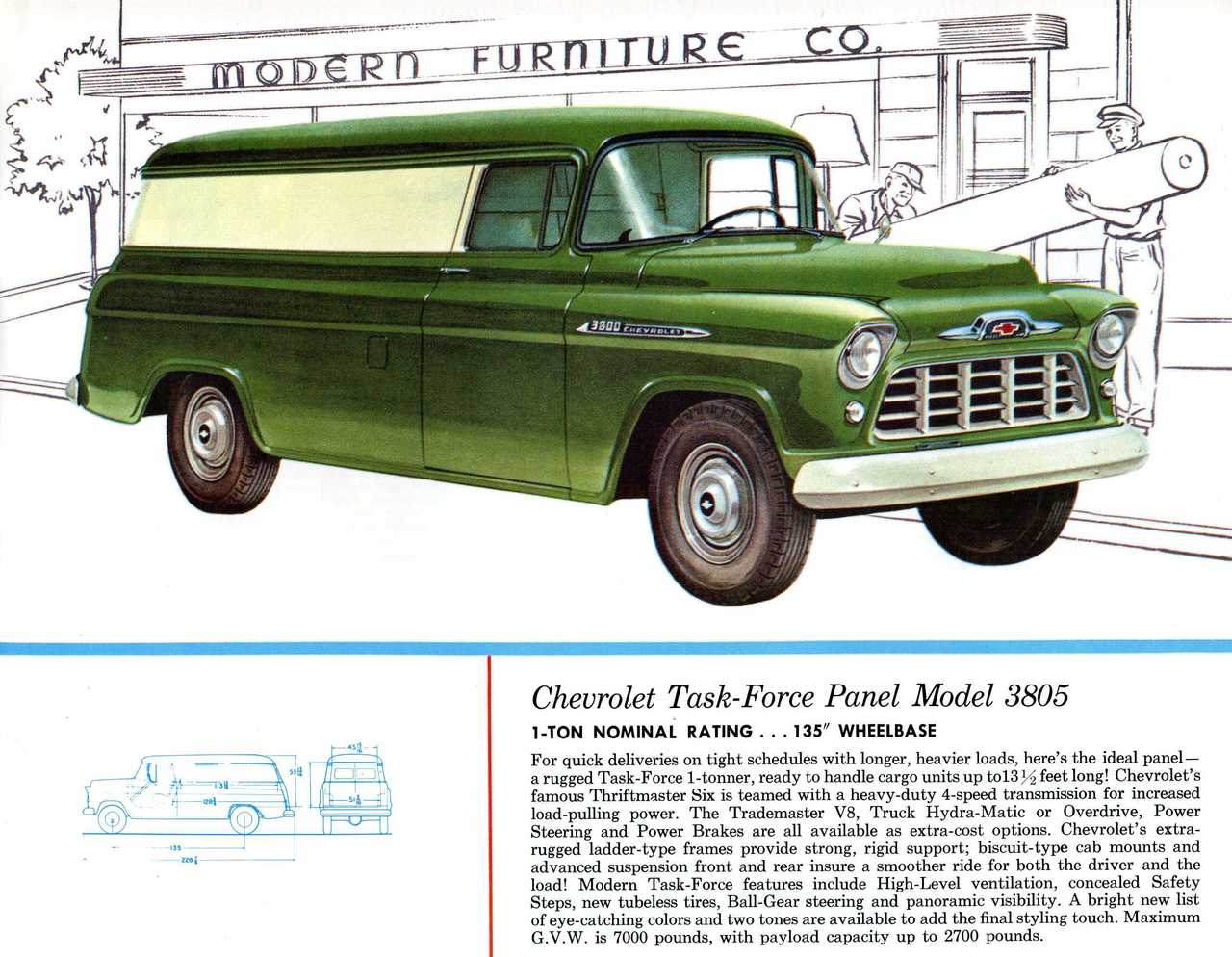 1956 Chevy Truck Parts Catalog