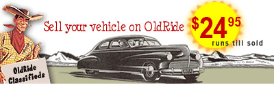 Sell your vehicle on OldRide.com! $24.95 runs till sold...