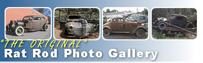 Rat Rod Picture Gallery of Rusty Rat Rods