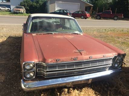 1966 Ford  No Rust  Good Starter caror parts