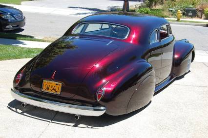 1940 LaSALLE/CAD COUPE  HI-END KUSTOM 185K firm