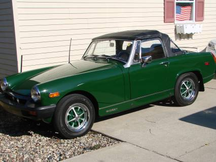 76 MG MIDGET  WHAT  A LIL CUTIE REDUCED 8500 FIRM