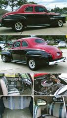 1946 FORD SUPER DELUXE SEDAN 2-Dr Rod REDUCED