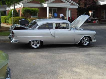 55 chevy showcar immaculate 2 door reduced 84995