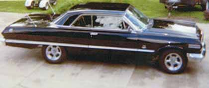 1963 CHEVY IMPALA 409 w/425 hp dual quad 4 sp