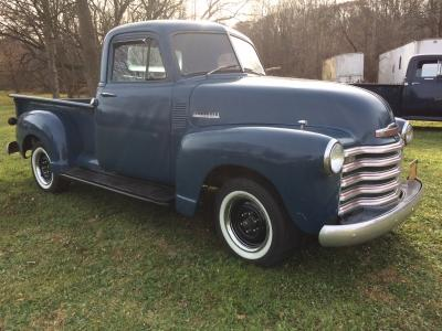 52 CHEVY PICKUP RUNS DRIVES GREAT REDUCED 14995