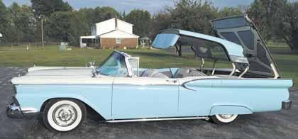 59 Ford SKYliner RETRACTABLE HARDTOP REDUCED3250O