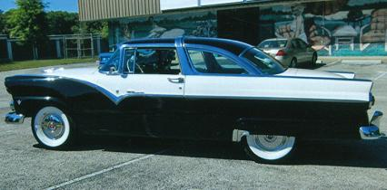 1955 FORD CROWN VICTORIA  15000 documented miles