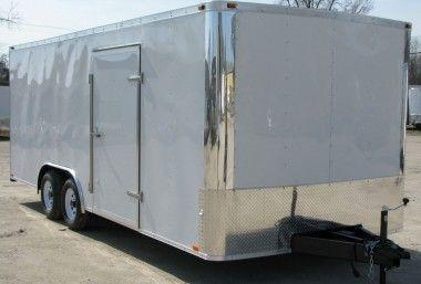 20 ft enclosed trlr new 2018 model4490 reduced