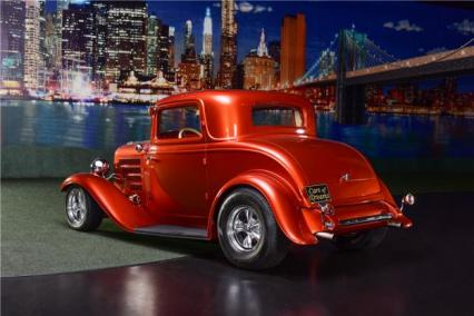 32 FORD RARE 3 WINDOW  STEEL CPEIMMACULATE100K
