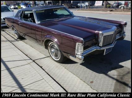 Groovy Classic 1969 Lincoln Continental Mark lll C