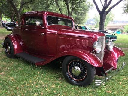 1932 Ford 3 Window Coupe Glass Body REDUCED $39K
