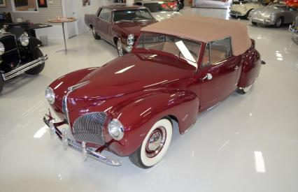 1940 Lincoln Continental Cabriolet Ca Car One Own