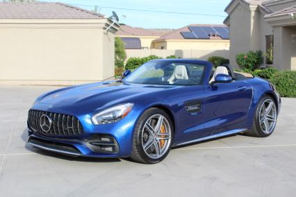 2018 mercedes amg gt c convertible 550 hp 178000