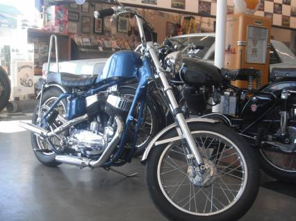 1955 Harley Davidson 45 cu In K-Model Flathead