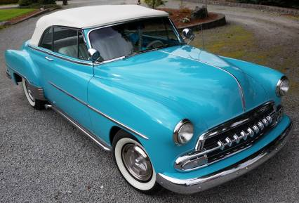 1952 Chevrolet Deluxe Convertible Restored Custom