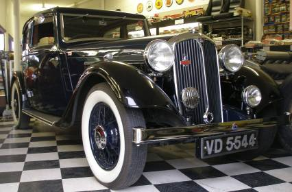 1936 Rover 14 Sports Saloon P2 -Show Car Repowered