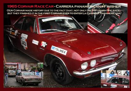 1965 Corvair Corsa 140 -Road Racer Carrera Panam