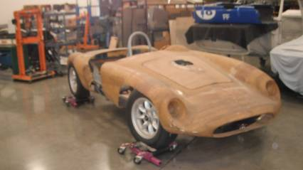 1957 Devin MGA with Alum Buick 215 Nds Finishing