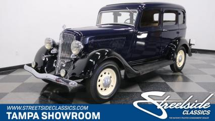 1934 Plymouth 4 Door Sedan