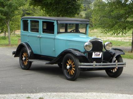 1929 Plymouth Model U Sedan