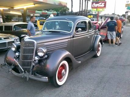 1935 Ford 5 window coupe REDUCED