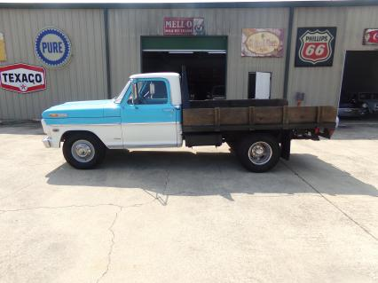 1968 Ford 250 With Flatbed Built 360 V8 Runs Great