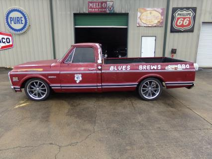 1972 Chevy C-10 LWB LS Swap Engine Cold AC P/S P/B