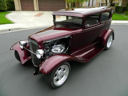 1930 Ford Model A Tudor Custom Dream Build