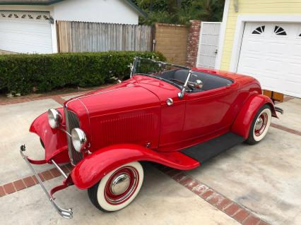 1932 Ford Full Fender ALL STEEL Roadster