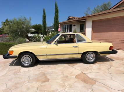 1977 MBZ 450SL 2 Owner California Car Pristine