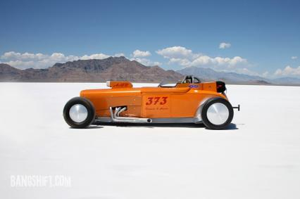 1929 Ford Bonneville Racer With 24 Trailer