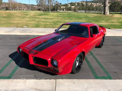 1973 Pontiac Trans Am LS9 2000 Hours Metal Fab