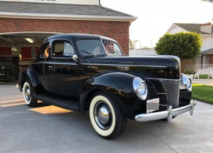 1940 Ford Deluxe Coupe All Original Fully Restored