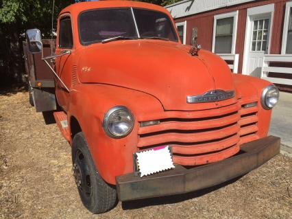 1953 Chevy 3500 Barn Find Hauler Mover Patina