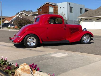 1933 Ford 3Window Coupe All Steel Stunning 1300 Mi