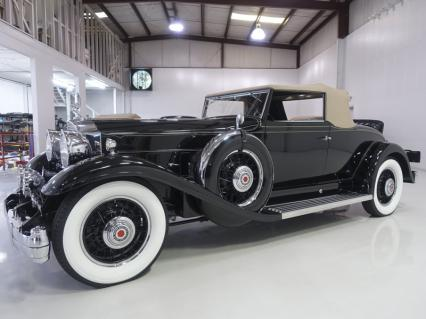 1932 Packard Special Eight Roadster Coupe