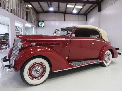 1937 Packard 115-C Coachbuilt Cabriolet by Graber