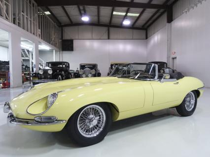 1968 Jaguar E-Type Series 1 1/2 Roadster