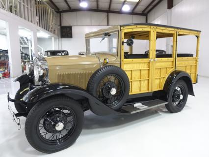 "1930 Ford Model A Station Wagon ""Woody"" Wagon"