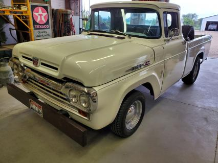 ford f100 1960 short wide box